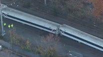 Service suspension remains following NJ Transit train derailment
