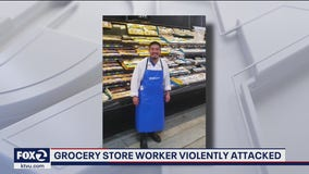 San Jose grocery store worker violently attacked; family says he can't walk or talk