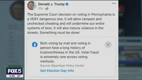 Social media giants crack down on Election Day misinformation