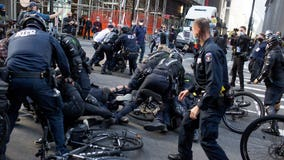 Protests, clashes with police as tensions high ahead of Election Day