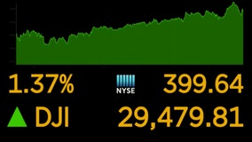 Potential vaccine news lifts stocks; S&P hits record