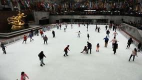 Skates (and masks) on! Rockefeller Center ice rink opens