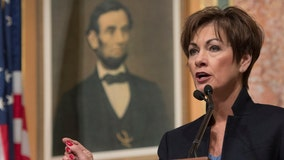 'Science on both sides' of wearing masks, Iowa governor claims