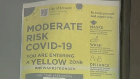 Newark imposes curfew as virus surges