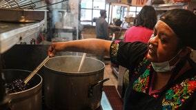 Bronx restaurant turns into soup kitchen to help poor