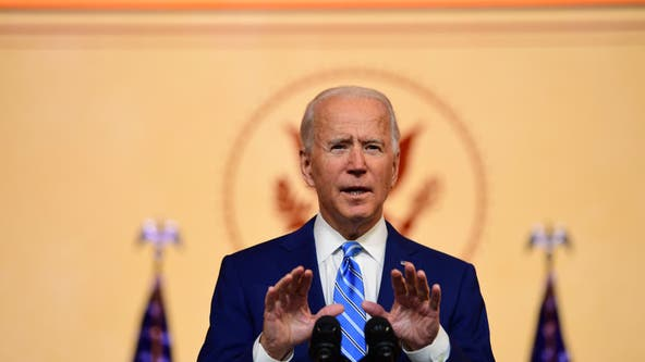 Biden delivers Thanksgiving address urging US unity in battle against COVID-19