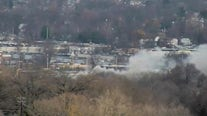 Emergency crews respond to NJ building fire