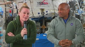 Interview with NASA astronauts