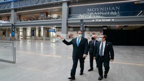 Bright, spacious Moynihan Train Hall opens at Penn Station