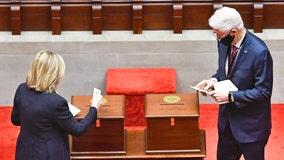 New York electors cast votes for Biden, Harris in brief ceremony