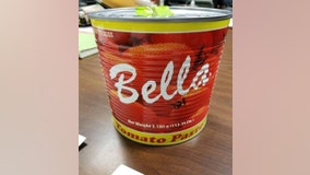 Feds: Cocaine hidden in tomato paste can at JFK Airport