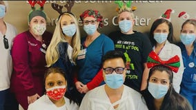 Frontline healthcare workers on LI spend Christmas battling COVID-19