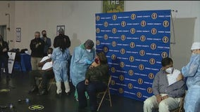 COVID-19 vaccinations begin for healthcare workers in NJ
