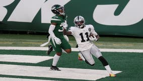Carr's TD pass with 5 seconds left lifts Raiders past Jets