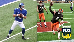 Giants look to bounce back against Browns