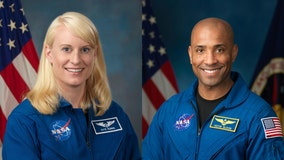Interview: NASA astronauts on ISS