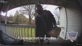 Oregon homeowner's quick thinking leads police to suspected porch pirate