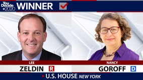 GOP Rep. Lee Zeldin defeats Democrat Nancy Goroff