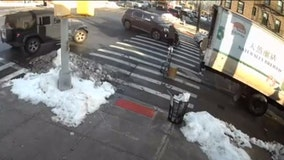 Woman and toddler hit in Bronx crosswalk
