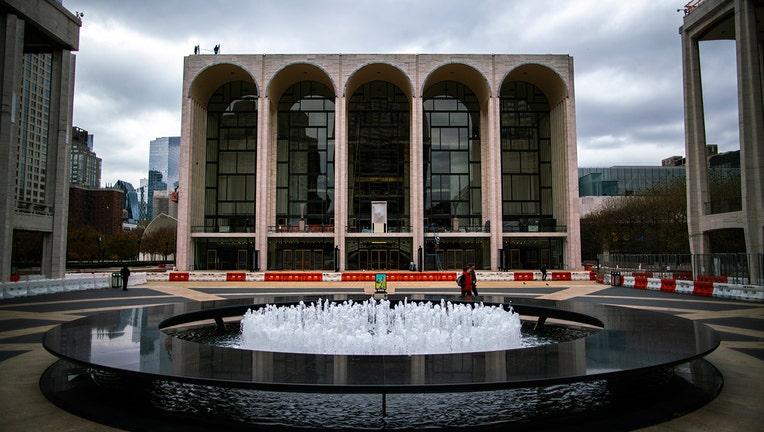 The Metropolitan Opera House is seen closed on November 17, 2020 in New York, (Photo by Eduardo MunozAlvarez/VIEWpress)