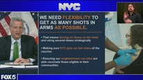 NYC vaccine shortage
