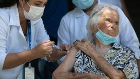 106-year-old flu pandemic survivor gets her coronavirus vaccine