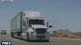 Self-driving big rigs could be future of long-haul trucking