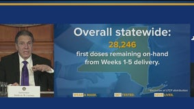Supplies dwindling as bumpy vaccine rollout in NY continues