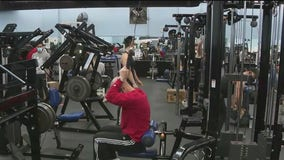 Pandemic shrinks New Year's crowds at gyms
