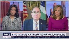 NYPD vaccine delay concerns