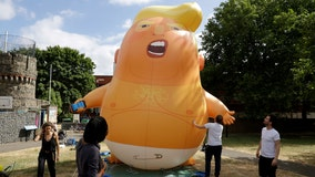Trump Baby blimp now lives at Museum of London