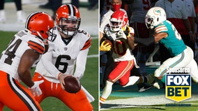 Browns look to pull upset against defending champion Chiefs
