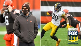 Shorthanded Browns meet old rival Steelers in AFC Wild Card