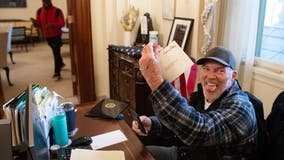 Richard Barnett, Arkansas man pictured in Pelosi's chair amid Capitol riot, faces 11 years in prison