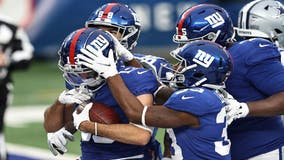 Giants outlast Cowboys 23-19, but don't win NFC East