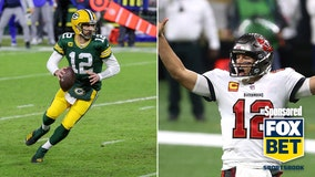 Quarterback battle of the ages as Rodgers, Brady meet for NFC Championship