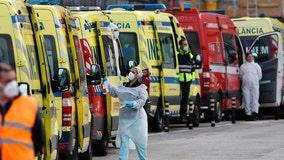 Ambulances queue at hospitals as coronavirus surge slams Portugal