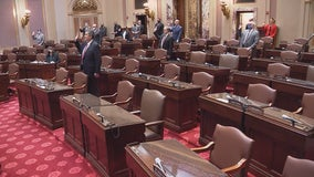 At least 8 GOP state senators not wearing masks while being sworn in