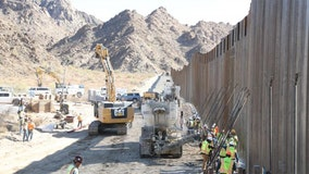 107 miles of border wall completed