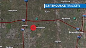 3.5-magnitude earthquake rocks the Los Angeles area