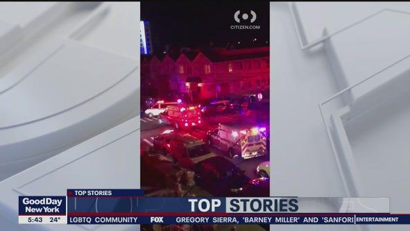 Suspect shot in Queens