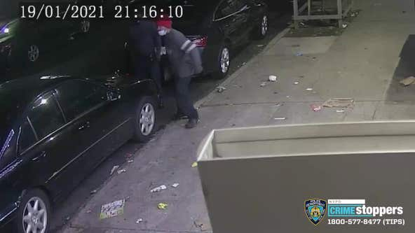 Thieves steal unmarked NYPD vehicle in the Bronx, strip it for parts