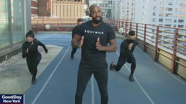 Equinox rooftop workout