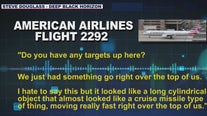 American Airlines pilot reportedly sees flying object directly over plane