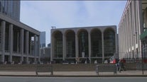 Lincoln Center setting up outdoor stages