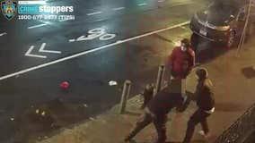 Food delivery worker beaten in Midtown Manhattan for $300 cash