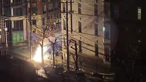 Transformer explodes in Hoboken knocks out power; hours later another explosion