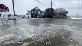 Nor'easter causes flooding in NJ