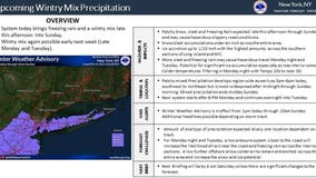 Snow, freezing rain could create travel havoc throughout Tri-State