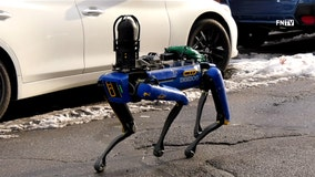 NYPD tests robot dog to clear crime scene in the Bronx